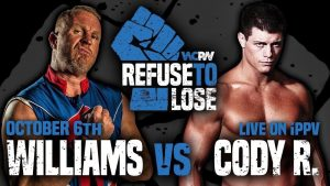 Douglas Williams vs. Cody Rhodes