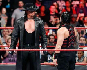 The Undertaker Roman Reigns MyWrestling