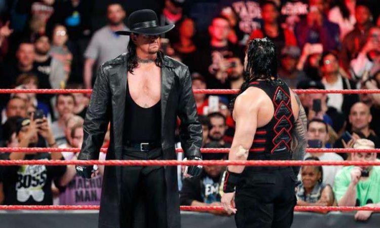 The Undertaker Roman Reigns MyWrestling